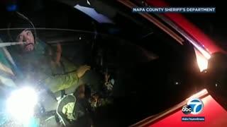 California Sheriff's Deputy almost killed by illegal alien