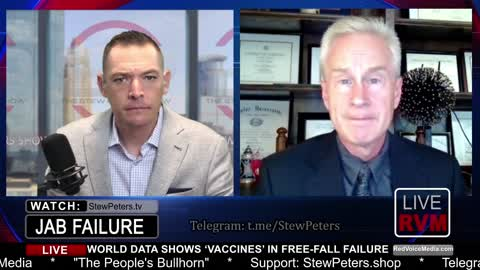 Vaccine FAILURE! Dr. Peter McCullough Reveals Data, Damning to Efficacy Narrative