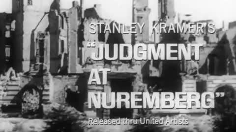 Judgment at Nuremberg (1961) Movie Trailer.