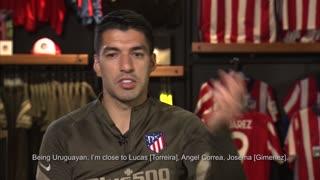 Atletico Madrid star Luis Suarez discusses Joao Felix, his role this season and the Derbi
