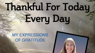 Thankful for Today, Every Day - Episode 38 AMERICA
