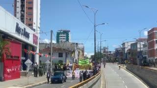 Movilización 21 de septiembre Bucaramanga