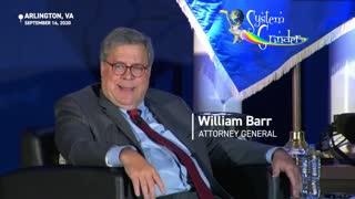 William Barr - Lockdowns - Slavery - Civil Liberties