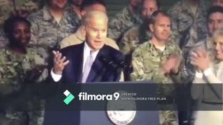 Biden calls American soldiers stupid bstrds