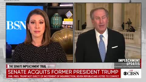Trump defense attorney SPANKS CBS Newsgirl