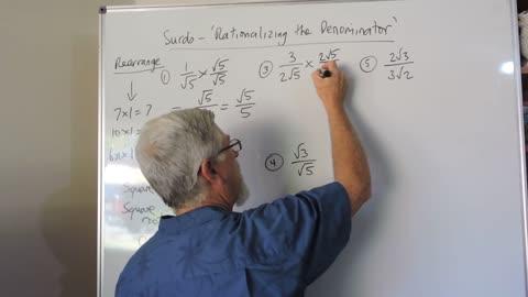 Math Surds 04 Rationalizing The Denominator