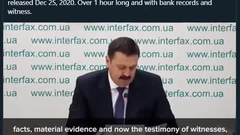 Biden Corruption Officially Exposed by Ukraine