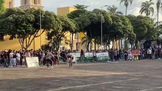 Protestas en Marcha por el paramo de Santurban