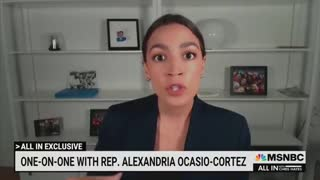 Crazy AOC Blames America for Illegal Immigration