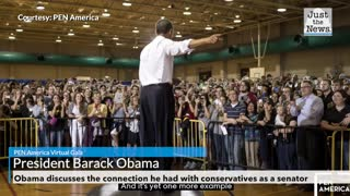 Obama: Conservative media figures broke the connection I had with conservatives as a senator