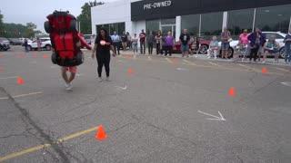 Man Takes Mini Car Race Into Own Hands, Fails