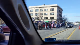 """""""Stop the Steal"""" rally in Concord, NH"""