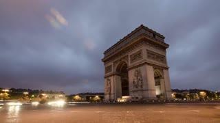 French Arc de Triomphe