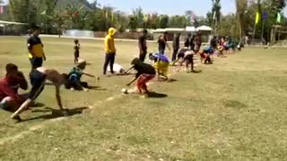 Funny race sports video 2021