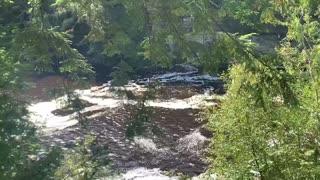 Tahquamenon Falls upper peninsula Mich
