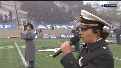 This INCREDIBLE National Anthem at the Army/Navy Game Is What America Needs Right Now