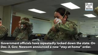 Californians doing as their elected leaders do — ignoring lockdown orders