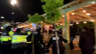 ANTIFA Shoots Fireworks at Police in Washington D.C.