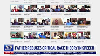Father Rebukes Critical Race Theory in Speech