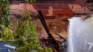 Home demolish In Detroit
