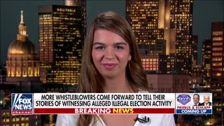 More election whistleblowers tell their stories on 'Hannity'