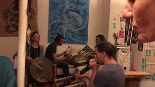 Living Room Sound Healing Session