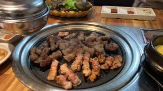 Grilled pork belly scene 4