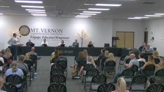 Dr. Dan Stock Testifies at Mt. Vernon School Board Meeting