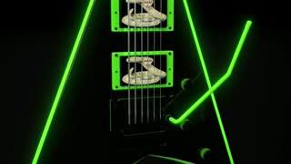 Flying V Guitar concept model