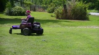 Kids Racing Lawn Mower