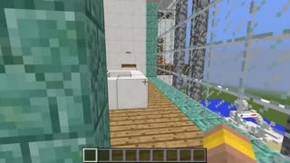 Minecraft FAMILY LUXURY MANSION HOUSE BUILD