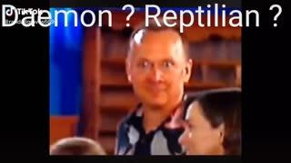 Demon reptilian caught on camera