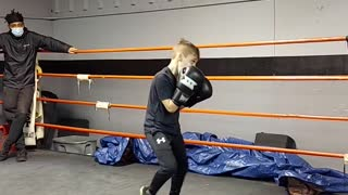 Shadow boxing 4