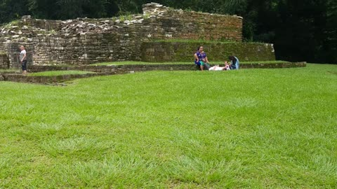 Mayan ruins in Quiriguá, Guatemala