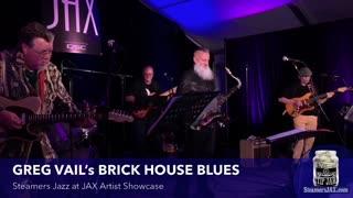Brick Alley Blues Band Live Concert 2/21/21 Greg Vail Saxophone
