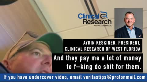 """Journalist Secretly Films 20 Year Pfizer Contractor on Covid Vax """"I'm skeptical of the science"""""""
