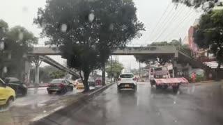 Lluvias en Bucaramanga y el área generan múltiples emergencias 2