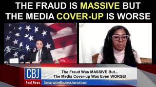 The Fraud is MASSIVE But The Media Cover-Up Is Worse!