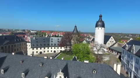 View Of Altenburg castle tower, Germany
