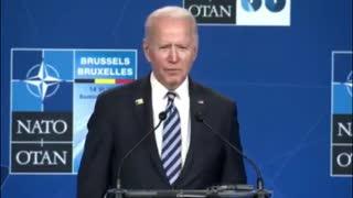 Biden's Brain Breaks When Asked About Putin Being A Killer
