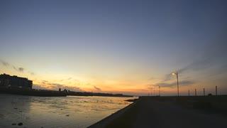 Sunrise Over The Claddagh