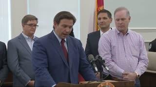 Governor Ron DeSantis at Zephyrhills Press Conference 6/2/21