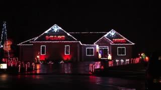 IU Christmas Light Show