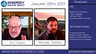 The Daily Finance and Energy News Show 1-28-2021 Energy News Beat