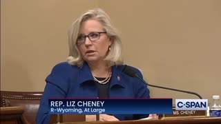 Rep Liz Cheney Opening Statement on January 6th
