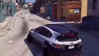 I'm a drift king on GTA5