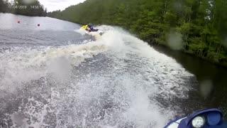 Jet Ski Water Test Seadoo GTI GS