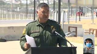 """Secretary of Homeland Security Alejandro Mayorkas: """"Our borders are not open."""""""