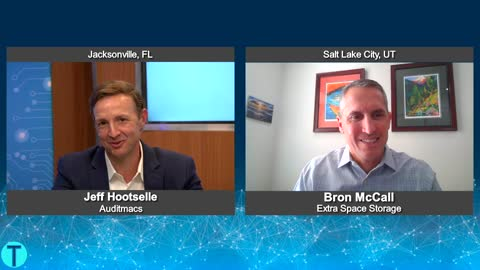 """""""Tech Talk USA"""" with Bron McCall from Extra Space Storage"""