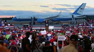 Trump carga contra Biden por no oponerse a las protestas raciales